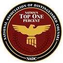 NADC top one percent honor badge