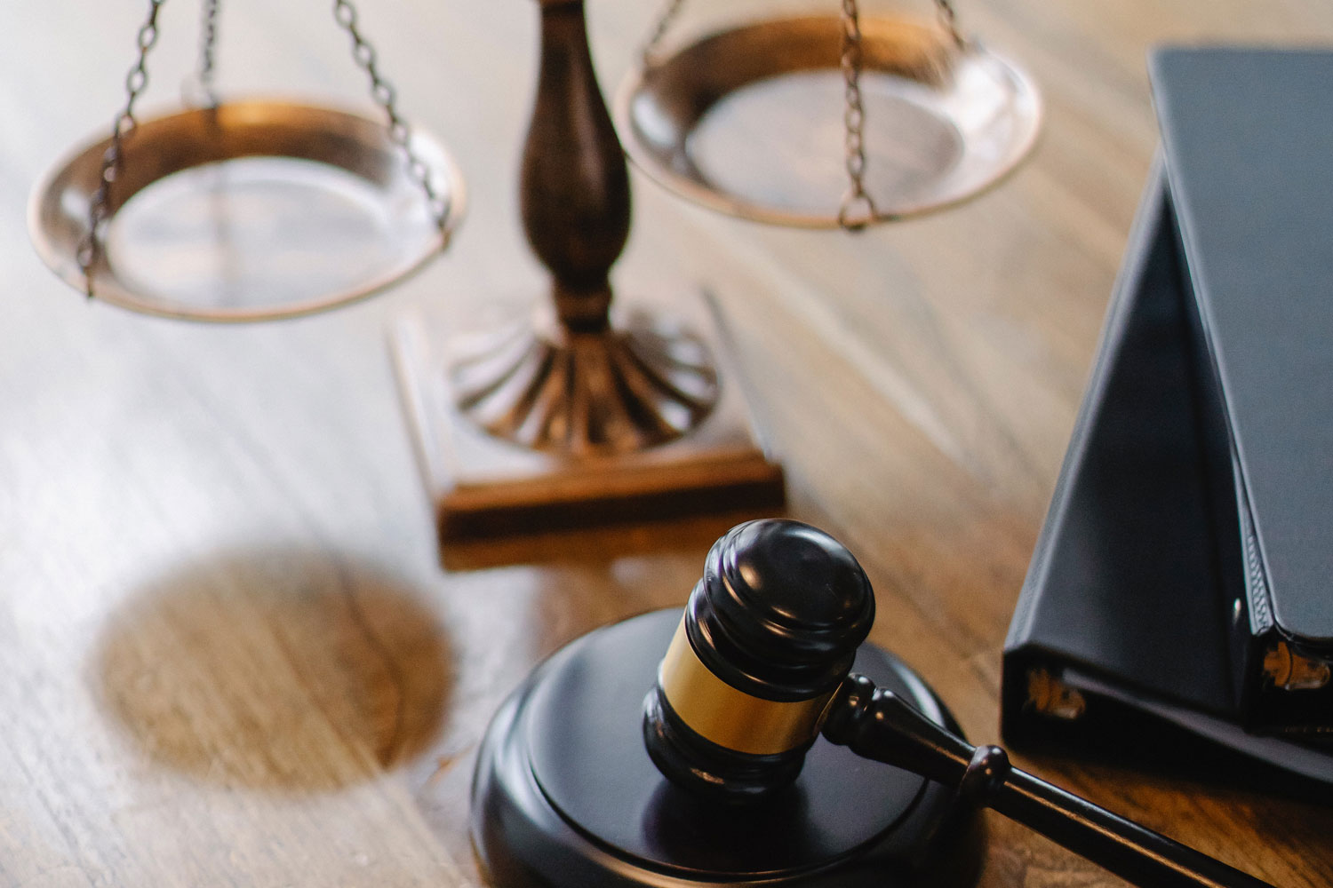 Courtroom gavel in a Family Law Court