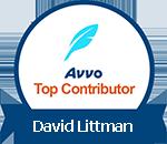 Avvo Top Contributor David Littman badge